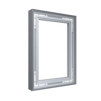 Tension Fabric Frames - Frames Only (no graphics)