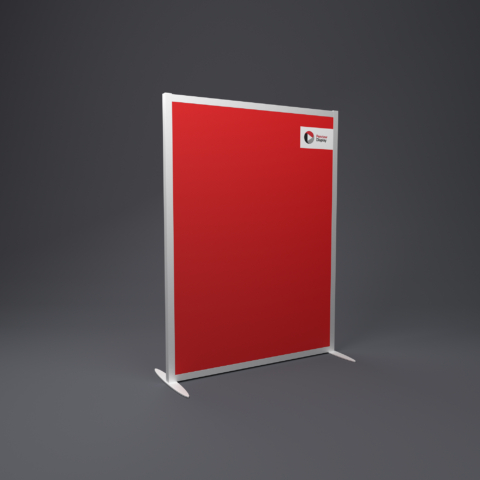 Acoustic straight screen