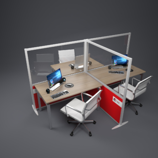 sound absorbing office screen