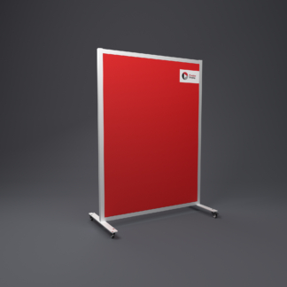 Mobile Sound Absorbing Office Screen