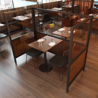 Booth Restaurant Screen